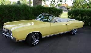 1972 Chevrolet Monte Carlo Convertible