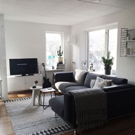 Living Room Gray Sofa by Ikea Nockeby Grey Corner Lounge Ikea Corner Sofa