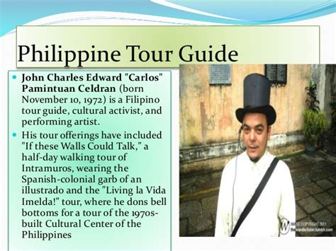 Tour Guiding History & Philippine Tour Guide