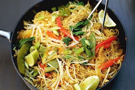 cuisine vegan one pan singapore noodles vegan kitchen