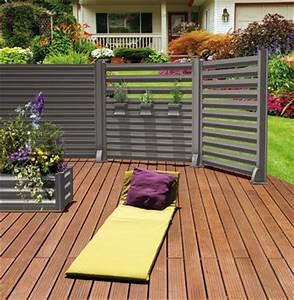 Brise Vue Pour Terrasse : brise vue moderne et original en aluminium cosmos par ~ Dailycaller-alerts.com Idées de Décoration