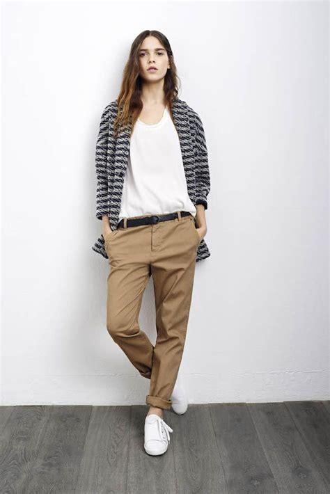 comptoir des cotonniers siege 17 meilleures idées à propos de pantalon chino femme sur