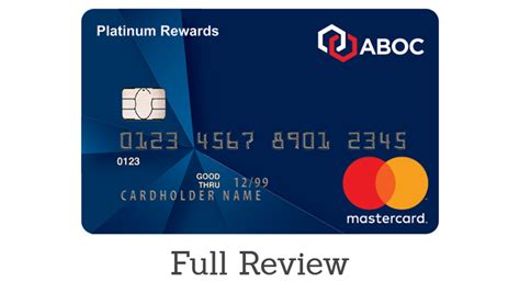 Credit card solutions for your organization's needs. ABOC Platinum Rewards Card Review & Card Details ...