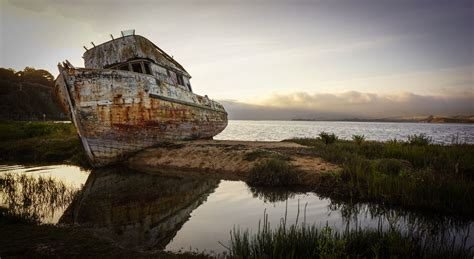 Boat Wreck Pictures by Picture Of The Day The Point Reyes Shipwreck Before It