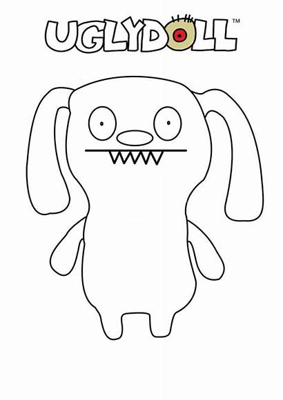 Ugly Coloring Dolls Pages Doll Uglydolls Printable