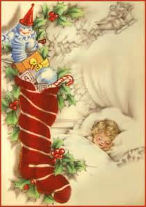 Vintage Christmas Cards Clip Art