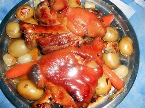 comment cuisiner jarret de porc demi sel