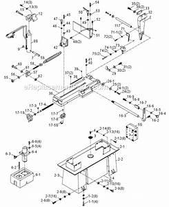 Jet Band Saw Parts Diagram  U2022 Downloaddescargar Com