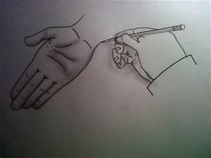 Dessin Fait Main : une main qui en dessine une autre l ury13 dessin ~ Dallasstarsshop.com Idées de Décoration