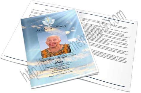 memorial folders funeral folders