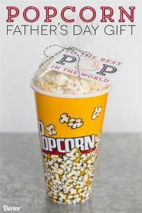 DIY Fathers Day Gift Idea: Popcorn Present - Darice
