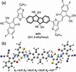 A  Molecular Structure And B  Optimized Molecular Geometry