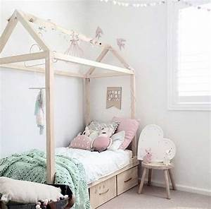 Meuble A Faire Soi Meme Recup : diy lit cabane enfant bois meuble avec rangement a faire ~ Zukunftsfamilie.com Idées de Décoration