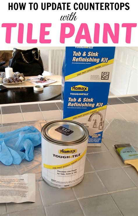 how to paint ceramic tile countertops useful how to paint tile countertops step by