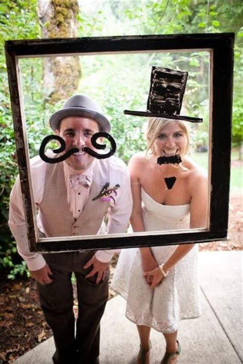 funny photo booth props ideas   wedding