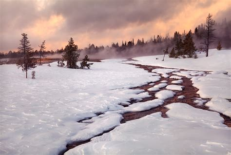 Thermal Winter | Yellowstone National Park, WY | Michael ...