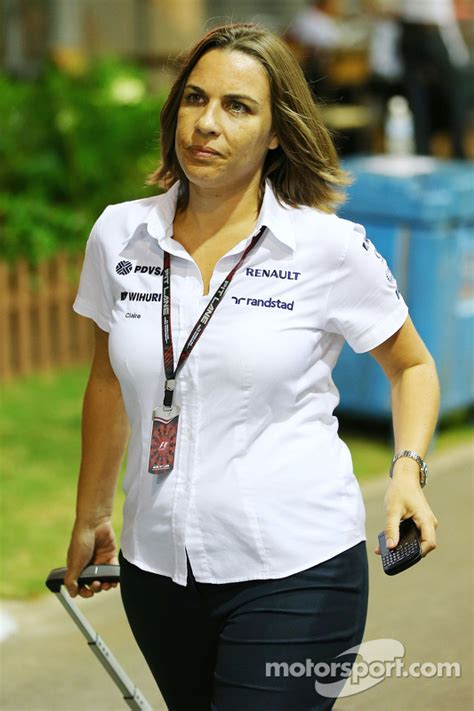 Claire Williams, Williams Deputy Team Principal at