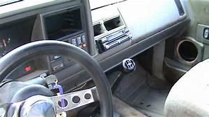 93 Silverado Stepside Before Custom Interior