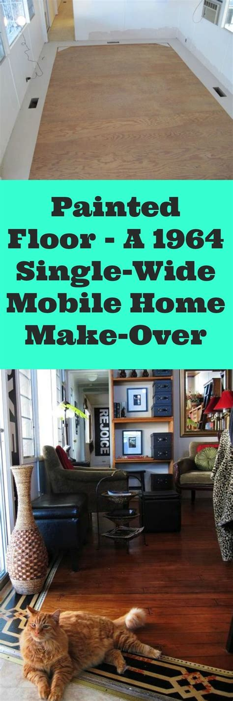 painted floor   single wide mobile home   diy projects single wide mobile