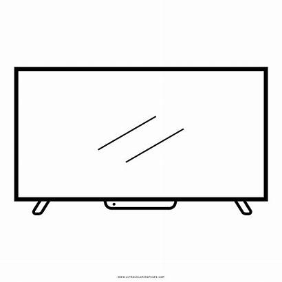Coloring Television Clipart Transparent Ultra Webstockreview