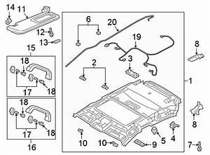 Mazda 3 Sunroof Wiring Harness  Hatchback  W  Sunroof  Trim