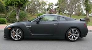 Nissan GT R is a matte black stealth fighter in China