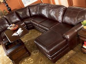 Ashley furniture sectional sofa ashley furniture leather for Ashley leather sofa