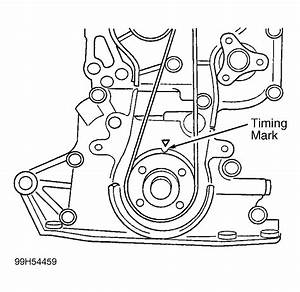 2001 Kia Rio Serpentine Belt Routing And Timing Belt Diagrams