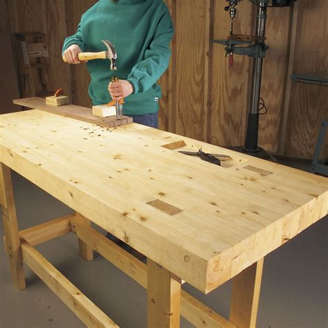 Bench Designs Simple by 12 Simple Workbenches You Can Build The Family