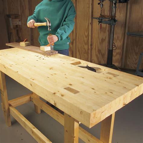 super simple workbenches   build survivalist