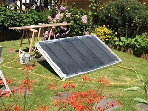 comment construire un panneau de chauffage solaire a With panneau solaire thermique fait maison