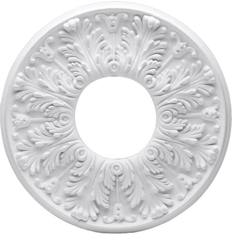 two ceiling medallions westinghouse 16 in white ceiling medallion 2