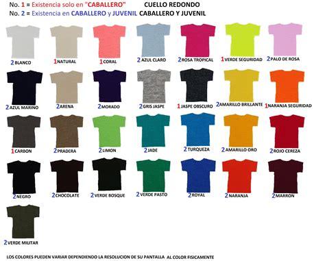 Gildan 5000 Color Chart