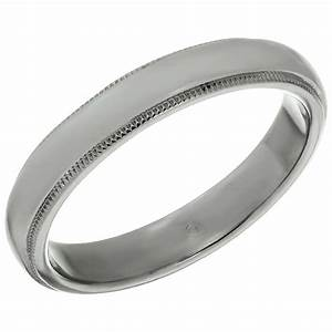 tiffany and co platinum milgrain men39s wedding band ring With mens platinum wedding rings