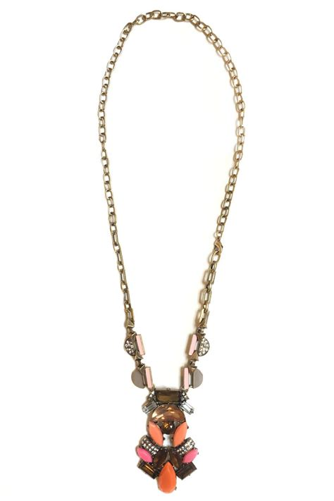dreamers deco statement necklace from new york city by local color nyc shoptiques