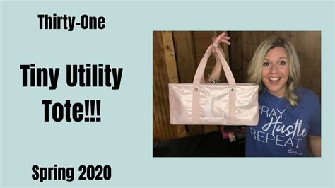The ️ Tiny Utility Tote From Thirty One Youtube