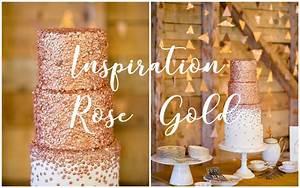 Chemin De Table Rose Gold : noceday tendance mariage 2017 rose gold ~ Teatrodelosmanantiales.com Idées de Décoration