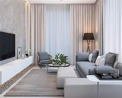 Modern Simple Living Apartment Colors Pastel Lapteva