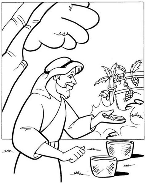 Kleurplaat Mattheus 13 by Naboth Vineyard Coloring Pages Printable Coloring Pages