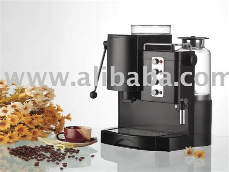 Espresso Coffee Machine With Grinder And Pods