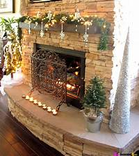 mantel christmas decorations 32 Best Christmas Mantel Decoration Ideas and Designs for 2019