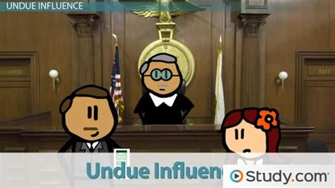 duress  undue influence  contract enforcement video