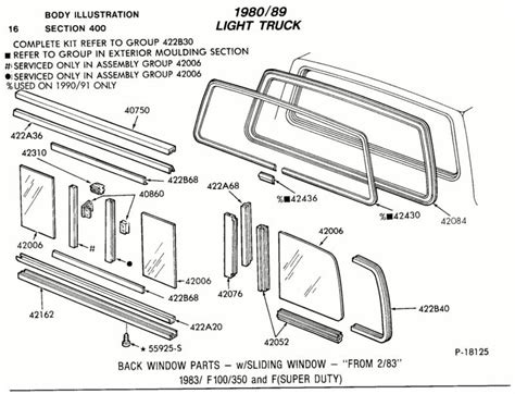 rear window slider ford truck enthusiasts forums