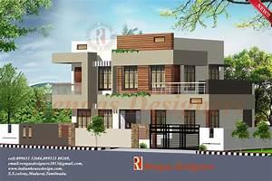 House front elevation designs in tamilnadu House design