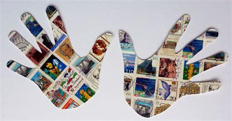 Collage Kunst Ideen by Drei Tolle Ideen F 252 R Briefmarken Collagen Mein Herz Sagt