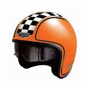 Vente Privilege Orange : casque jet vintage harry flag racer orange mat ~ Medecine-chirurgie-esthetiques.com Avis de Voitures