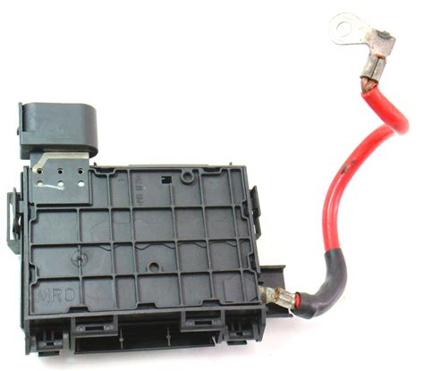 battery fuse box   vw  beetle tdi distribution