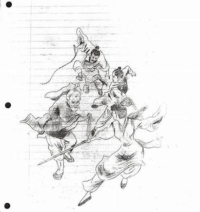 Bruce Lee Sketches Cool Sketch Drawings Dragon