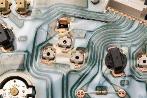 Instrument Cluster Flex Circuit Shorted Repair Replace