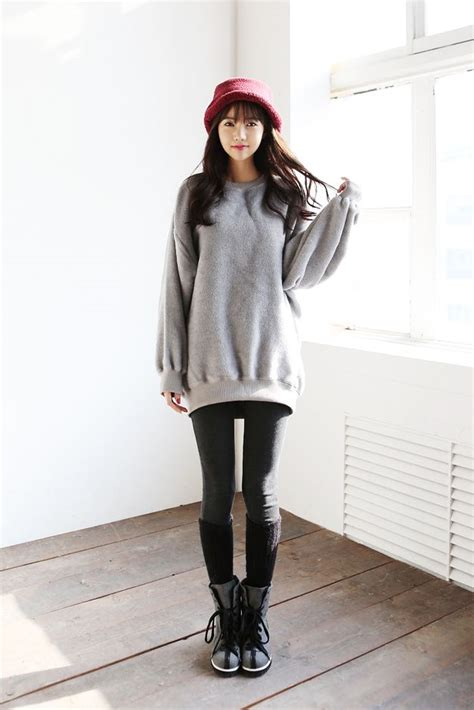 #kfashion | Womenu0026#39;s Leggings | Pinterest | Chic dress Ulzzang and Korean